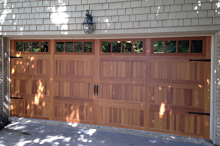 Classic Carriage House Wood Garage Doors