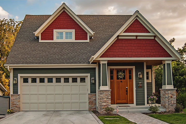Traditional Steel Garage Doors, Country Club Hills
