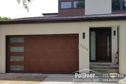 Clopay-New-Modern-Steel-Garage-Door,-Niles,-IL-1