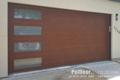 Clopay New Modern Steel Garage Door, Niles, IL 2