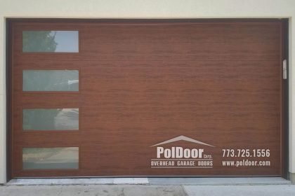 Clopay New Modern Steel Garage Door, Niles, IL 3