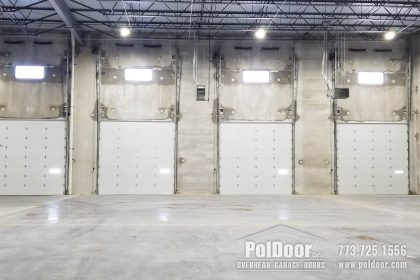 Dock Loading Doors, Commercial, Vertical Lift, Melrose Park, IL 1