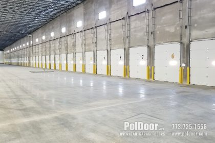 Dock Loading Doors, Commercial, Vertical Lift, Melrose Park, IL 5