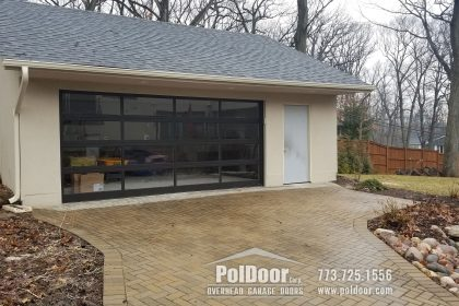 Modern Aluminum Hormann Garage Door, Downer Grove, IL 2