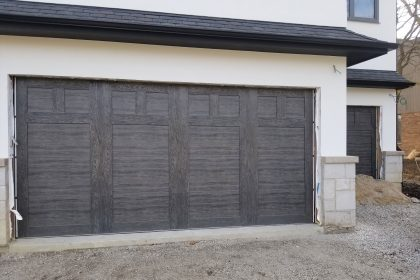 Steel Carriage Garage Door, Clopay Canyon Ridge, Glenview, IL